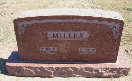 MILLER, ELIZABETH - Stevens County, Kansas   ELIZABETH MILLER - Kansas Gravestone Photos