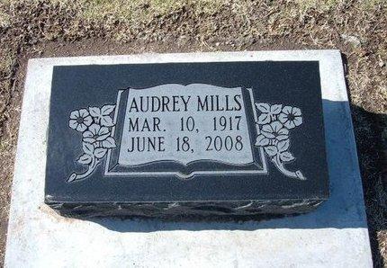 NORDYKE MILLS, AUDREY - Stevens County, Kansas   AUDREY NORDYKE MILLS - Kansas Gravestone Photos