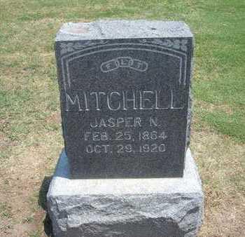 MITCHELL, JASPER N - Stevens County, Kansas | JASPER N MITCHELL - Kansas Gravestone Photos