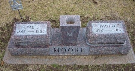 SIMMONDS MOORE, OPAL GRACE - Stevens County, Kansas | OPAL GRACE SIMMONDS MOORE - Kansas Gravestone Photos