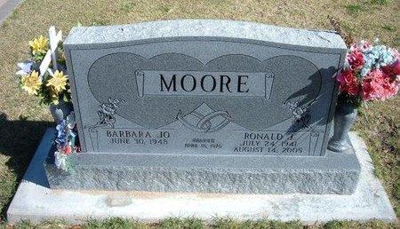 MOORE, RONALD J - Stevens County, Kansas | RONALD J MOORE - Kansas Gravestone Photos