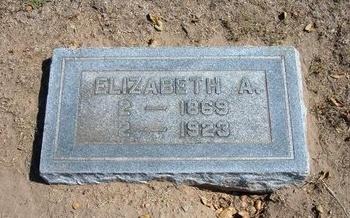 MOORHEAD, ELIZABETH ARDELIA - Stevens County, Kansas | ELIZABETH ARDELIA MOORHEAD - Kansas Gravestone Photos