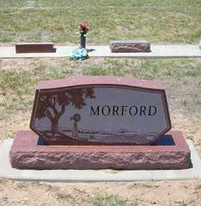 MORFORD, FAMILY STONE - Stevens County, Kansas   FAMILY STONE MORFORD - Kansas Gravestone Photos