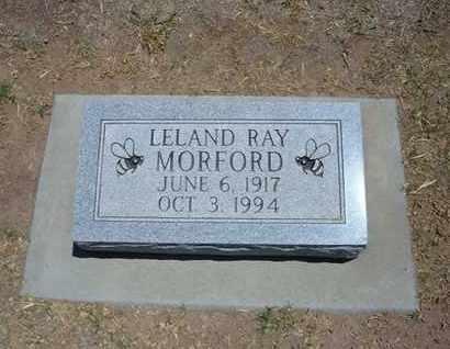 MORFORD, LELAND RAY - Stevens County, Kansas | LELAND RAY MORFORD - Kansas Gravestone Photos