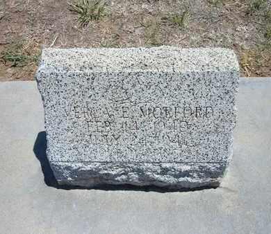 MORFORD, VERLA E - Stevens County, Kansas | VERLA E MORFORD - Kansas Gravestone Photos