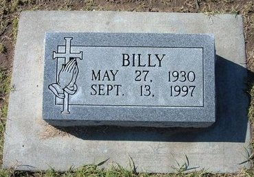 MORRIS, BILLY - Stevens County, Kansas   BILLY MORRIS - Kansas Gravestone Photos