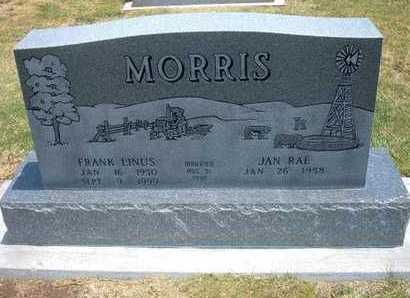 MORRIS, FRANK LINUS - Stevens County, Kansas | FRANK LINUS MORRIS - Kansas Gravestone Photos