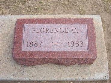 MORRIS, FLORENCE O - Stevens County, Kansas | FLORENCE O MORRIS - Kansas Gravestone Photos