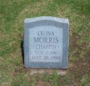 MORRIS, LEONA - Stevens County, Kansas | LEONA MORRIS - Kansas Gravestone Photos