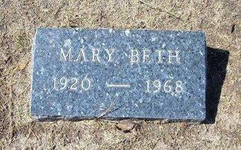 MORRIS, MARY BETH - Stevens County, Kansas | MARY BETH MORRIS - Kansas Gravestone Photos