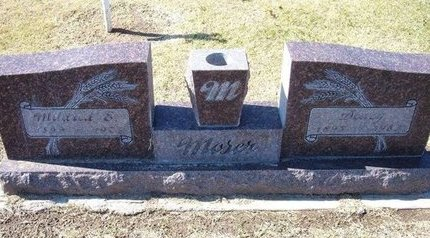 MOSER, DEWEY (VETERAN WWI) - Stevens County, Kansas | DEWEY (VETERAN WWI) MOSER - Kansas Gravestone Photos