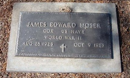 MOSER, JAMES EDWARD   (VETERAN WWII) - Stevens County, Kansas   JAMES EDWARD   (VETERAN WWII) MOSER - Kansas Gravestone Photos