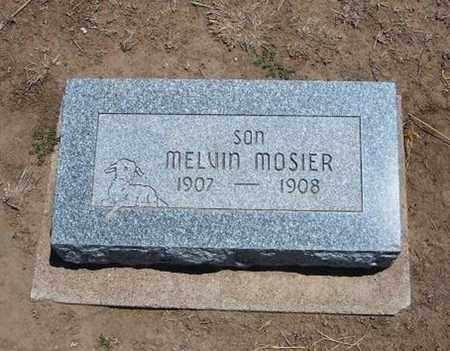 MOSIER, MELVIN - Stevens County, Kansas | MELVIN MOSIER - Kansas Gravestone Photos