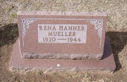 MUELLER, RENA - Stevens County, Kansas | RENA MUELLER - Kansas Gravestone Photos