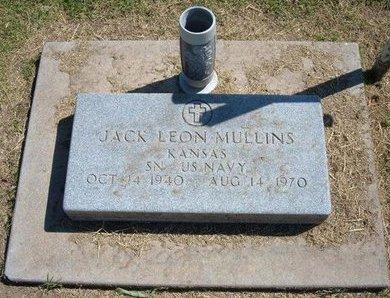 MULLINS, JACK LEON   (VETERAN) - Stevens County, Kansas | JACK LEON   (VETERAN) MULLINS - Kansas Gravestone Photos
