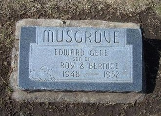 MUSGROVE, EDWARD GENE - Stevens County, Kansas   EDWARD GENE MUSGROVE - Kansas Gravestone Photos