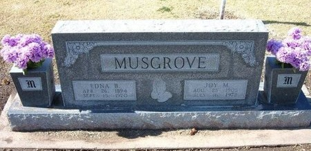 MUSGROVE, JOY MILTON - Stevens County, Kansas | JOY MILTON MUSGROVE - Kansas Gravestone Photos