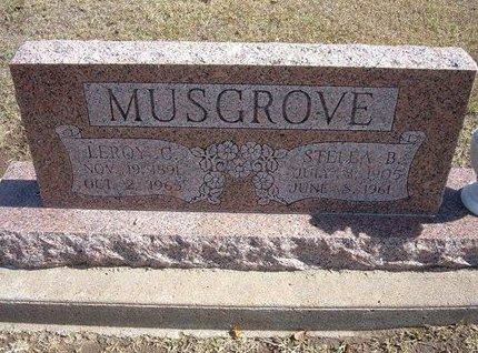 MUSGROVE, STELLA B - Stevens County, Kansas | STELLA B MUSGROVE - Kansas Gravestone Photos