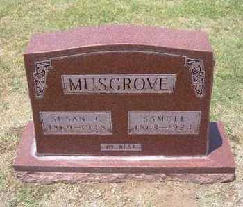 MUSGROVE, SAMUEL - Stevens County, Kansas | SAMUEL MUSGROVE - Kansas Gravestone Photos