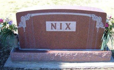 NIX, FAMILY STONE - Stevens County, Kansas | FAMILY STONE NIX - Kansas Gravestone Photos
