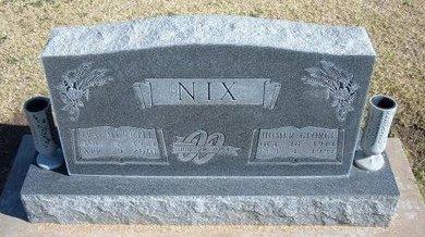 NIX, HOMER GEORGE - Stevens County, Kansas | HOMER GEORGE NIX - Kansas Gravestone Photos