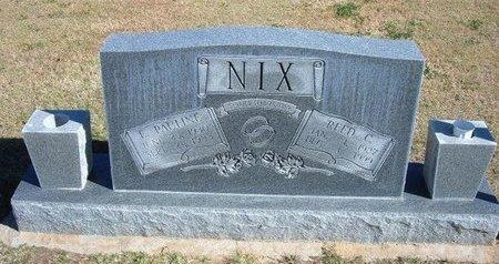 OSMON NIX, EDITH PAULINE - Stevens County, Kansas | EDITH PAULINE OSMON NIX - Kansas Gravestone Photos
