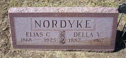 MOYER NORDYKE, DELLA VIOLA - Stevens County, Kansas | DELLA VIOLA MOYER NORDYKE - Kansas Gravestone Photos