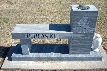 NORDYKE, FAMILY STONE - Stevens County, Kansas | FAMILY STONE NORDYKE - Kansas Gravestone Photos