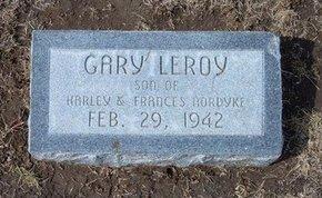 NORDYKE, GARY LEROY - Stevens County, Kansas | GARY LEROY NORDYKE - Kansas Gravestone Photos