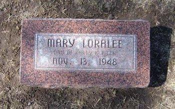 NORDYKE, MARY LORALEE - Stevens County, Kansas   MARY LORALEE NORDYKE - Kansas Gravestone Photos