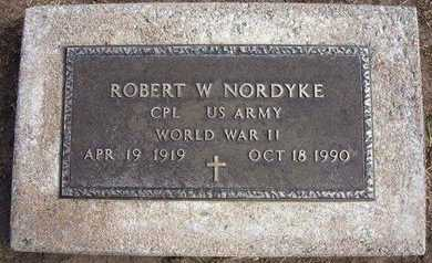 "NORDYKE, ROBERT WILLIS ""BOB"" (VETERAN WWII) - Stevens County, Kansas | ROBERT WILLIS ""BOB"" (VETERAN WWII) NORDYKE - Kansas Gravestone Photos"