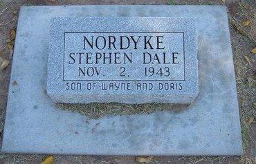 NORDYKE, STEPHEN DALE - Stevens County, Kansas   STEPHEN DALE NORDYKE - Kansas Gravestone Photos