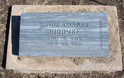 NORDYKE, WAYNE CHARLES - Stevens County, Kansas | WAYNE CHARLES NORDYKE - Kansas Gravestone Photos