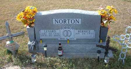 NORTON, LENARD - Stevens County, Kansas | LENARD NORTON - Kansas Gravestone Photos