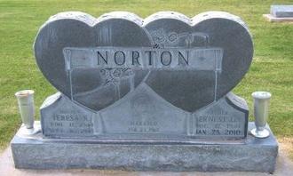NORTON, ERNEST GENTRY    (VETERAN) - Stevens County, Kansas | ERNEST GENTRY    (VETERAN) NORTON - Kansas Gravestone Photos