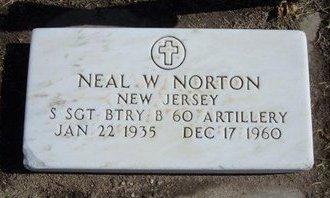 NORTON, NEAL WESLEY   (VETERAN) - Stevens County, Kansas   NEAL WESLEY   (VETERAN) NORTON - Kansas Gravestone Photos