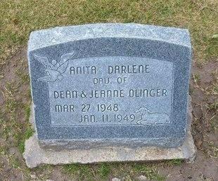 OLINGER, ANITA DARLENE - Stevens County, Kansas | ANITA DARLENE OLINGER - Kansas Gravestone Photos