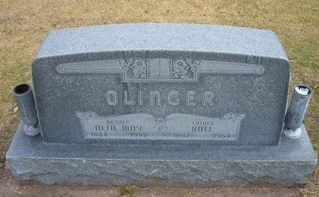 BURTON OLINGER, ALTA M - Stevens County, Kansas | ALTA M BURTON OLINGER - Kansas Gravestone Photos