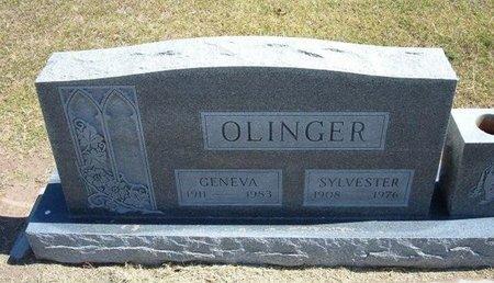 OLINGER, GENEVA - Stevens County, Kansas | GENEVA OLINGER - Kansas Gravestone Photos