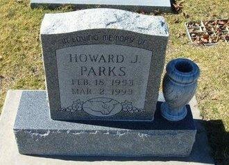 PARKS, HOWARD J - Stevens County, Kansas | HOWARD J PARKS - Kansas Gravestone Photos