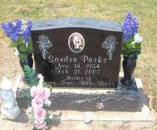 "PARKS, SANDRA ""SANDY"" - Stevens County, Kansas | SANDRA ""SANDY"" PARKS - Kansas Gravestone Photos"