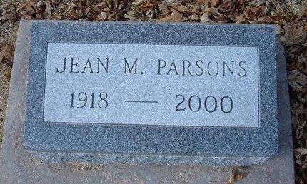 PARSONS, JEAN MARGARET - Stevens County, Kansas | JEAN MARGARET PARSONS - Kansas Gravestone Photos