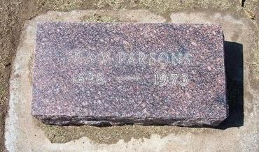 PARSONS, IRA VOLNEY - Stevens County, Kansas   IRA VOLNEY PARSONS - Kansas Gravestone Photos