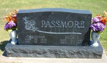 PASSMORE, CHRISTINE OPAL - Stevens County, Kansas | CHRISTINE OPAL PASSMORE - Kansas Gravestone Photos