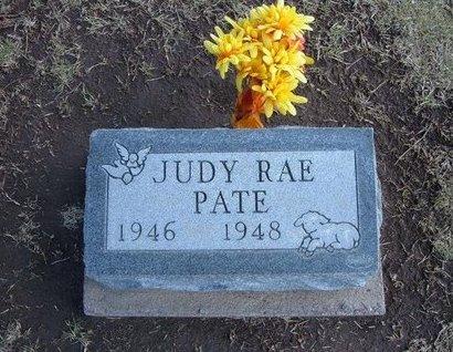 PATE, JUDY RAE - Stevens County, Kansas | JUDY RAE PATE - Kansas Gravestone Photos