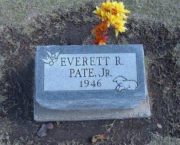 PATE , EVERETT R, JR - Stevens County, Kansas | EVERETT R, JR PATE  - Kansas Gravestone Photos