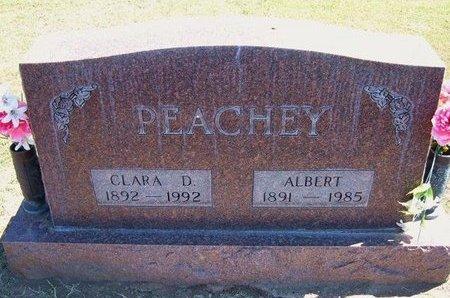 PEACHEY, CLARA D - Stevens County, Kansas | CLARA D PEACHEY - Kansas Gravestone Photos