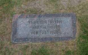 PEARCE, THELMA RUTH - Stevens County, Kansas   THELMA RUTH PEARCE - Kansas Gravestone Photos