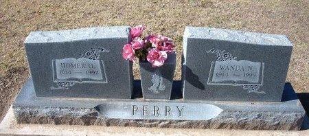 PERRY, HOMER O - Stevens County, Kansas | HOMER O PERRY - Kansas Gravestone Photos