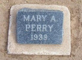 PERRY, MARY A - Stevens County, Kansas   MARY A PERRY - Kansas Gravestone Photos